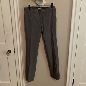 NWOT Banana Republic Gray dress pants size 4